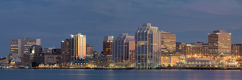 29 Panoramic Halifax Nighttime